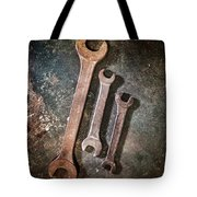 Old Spanners Tote Bag
