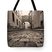 Old Street In Prague Tote Bag