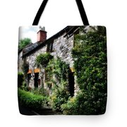 Old Terrace Houses - Peak District - England Tote Bag