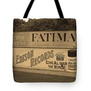 Old Time Baseball Field Tote Bag