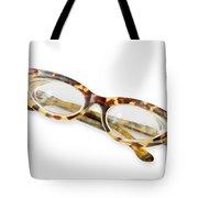 Old Tortoise Eyeglasses Tote Bag