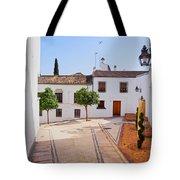 Old Town In Cordoba Tote Bag