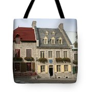 Place Royale - Old Town Quebec - Canada Tote Bag