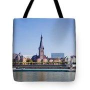 Old Town With Lambertus Church Tote Bag