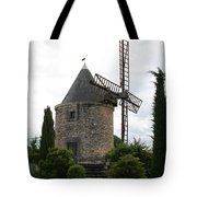 Old Provencal Windmill Tote Bag