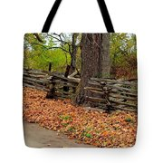 Old Wooden Fence Tote Bag