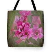 Oleander Cluster Tote Bag