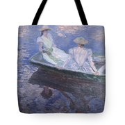 On The Boat Tote Bag