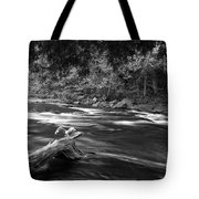 Going Down Stream Tote Bag