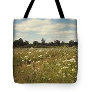 On The Summer Meadow. Russia Tote Bag