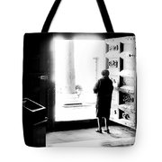 One Step From The Unknown Tote Bag