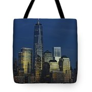 One World Trade Center At Twilight Tote Bag