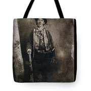 Only Authenticated Photo Of Billy The Kid Ft. Sumner New Mexico C.1879-2013 Tote Bag