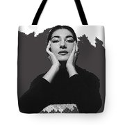 Opera Singer Maria Callas  Cecil Beaton Photo No Date-2010 Tote Bag