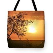 Orange Morning Tote Bag