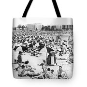 Orchard Beach In The Bronx Tote Bag