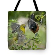 Orchard Orioles Tote Bag
