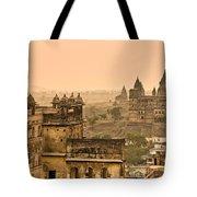 Orchha's Palace - India Tote Bag