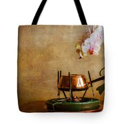 Orchid And Copper Fondue Tote Bag