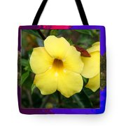 Orchid Pink Flower Bud Photographed At Costa Rica Sensual Smile Graphic Dital Painted Background Ide Tote Bag