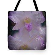 Orchid Ruffles Tote Bag