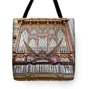 Organ In Cordoba Cathedral Tote Bag by Artur Bogacki