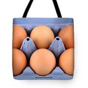 Organic Eggs Tote Bag