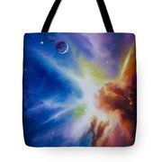 Origin Nebula Tote Bag