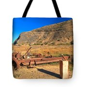 Out Of Gas Tote Bag