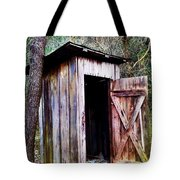 Outhouse Tote Bag