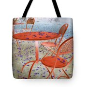 Outside Cafe  Tote Bag