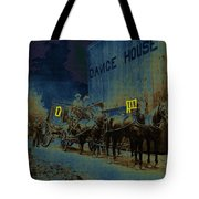 Overland Stage Raiders Homage 1938 Stagecoach 1894-2009 Tote Bag