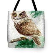 Owl Study Tote Bag