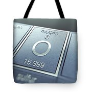 Oxygen Chemical Element Tote Bag