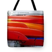 Oyster Bay Sailing School Tote Bag by Jeff Breiman