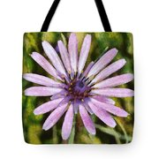 Oyster Plant Tote Bag