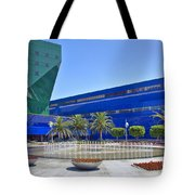 Pacific Design Center West Hollywood Ca Blue Whale Tote Bag