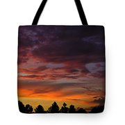 Painted Sky  Tote Bag