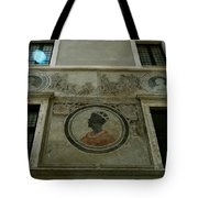 Painted Wall Tote Bag