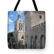 Palace Of The Pope - Avignon Tote Bag