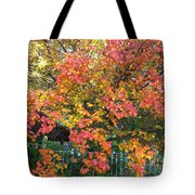 Pallette Of Fall Colors Tote Bag
