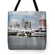 Palm Beach Docks Tote Bag