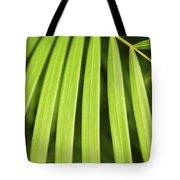 Palm Tree Leaf Tote Bag