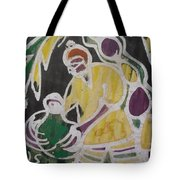 Palm Wine Tamper In The Bush. Tote Bag