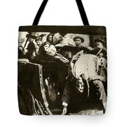 Pancho Villa Ambushed July 20 1923 1923 Dodge Touring Car 1923-2013 Tote Bag