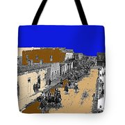 Pancho Villa Captures Juarez Chihuahua May 8 1911 Color Added 2012 Tote Bag