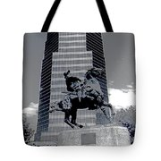 Pancho Villa Statue Downtown Tucson Arizona 1988-2008  Tote Bag