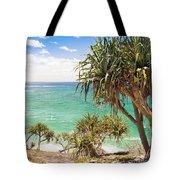 Pandanus Palm Tree Tote Bag