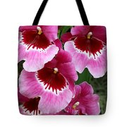 Pansy Orchid 1 Tote Bag