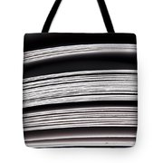 Paper Pages Tote Bag